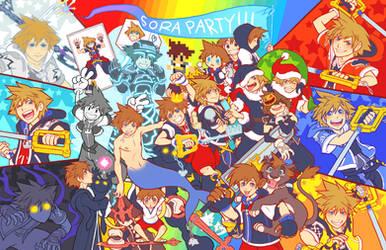 KH - Ultimate Sora Partay