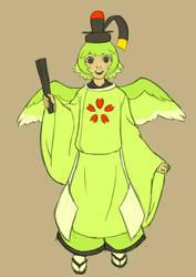 Uguisu Mascot Character! by rasenth