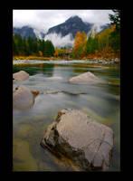Washington  North Cascades II by mysteriumtremendum