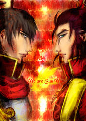 Sun Brothers by O-Mailey