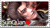 Sun Quan Stamp by O-Mailey