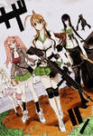 high school of the dead girls