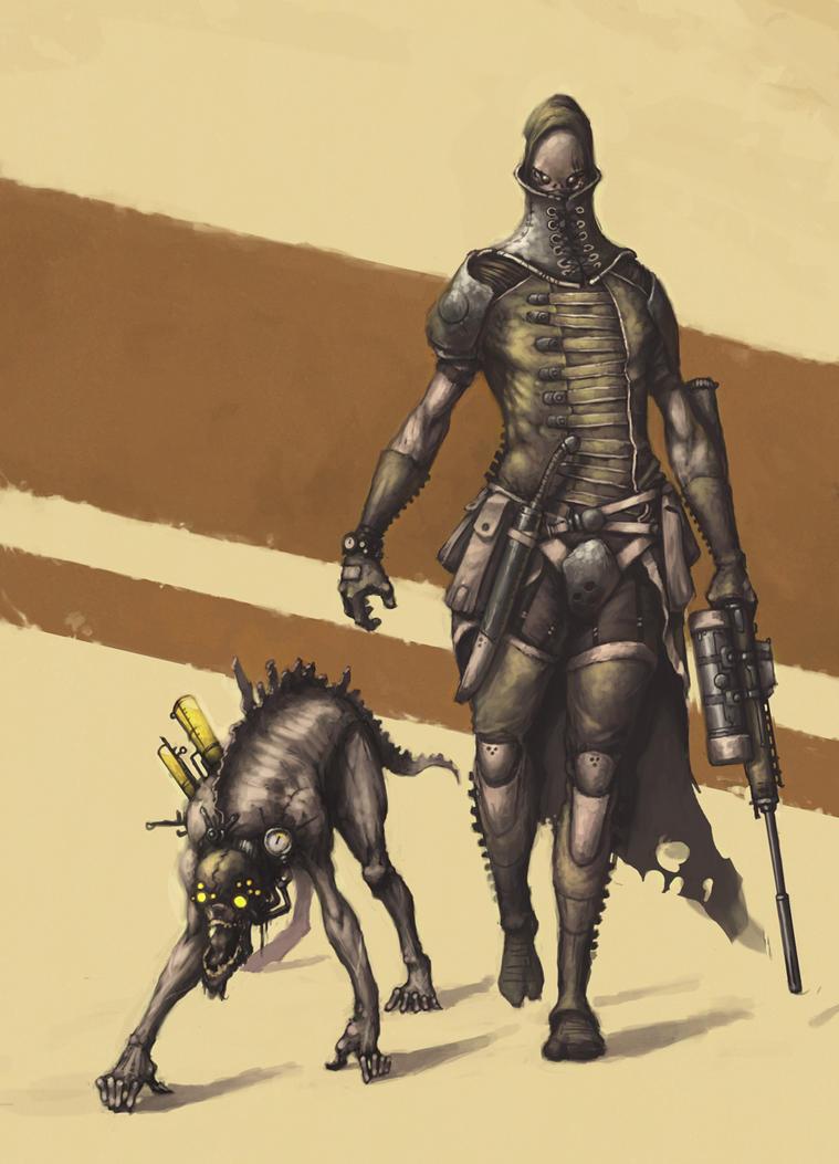 Human hunter by Mentosik8