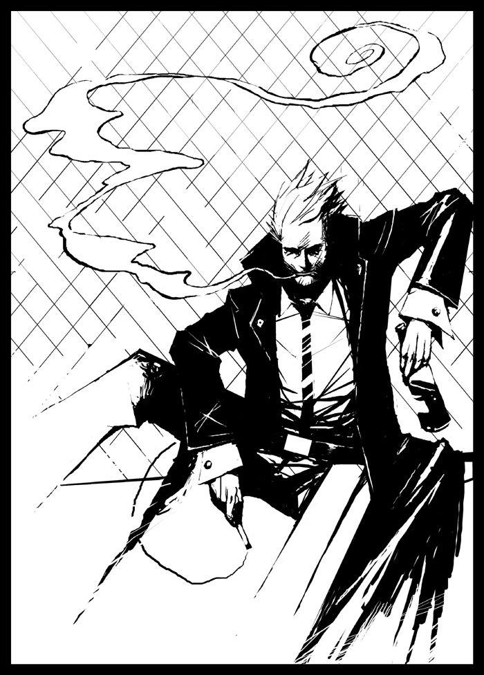 Hellblazer by Mentosik8