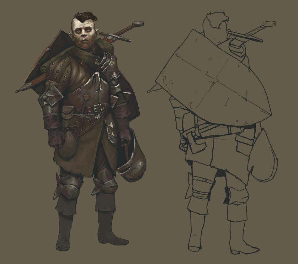 Adventurers - Warrior by Mentosik8