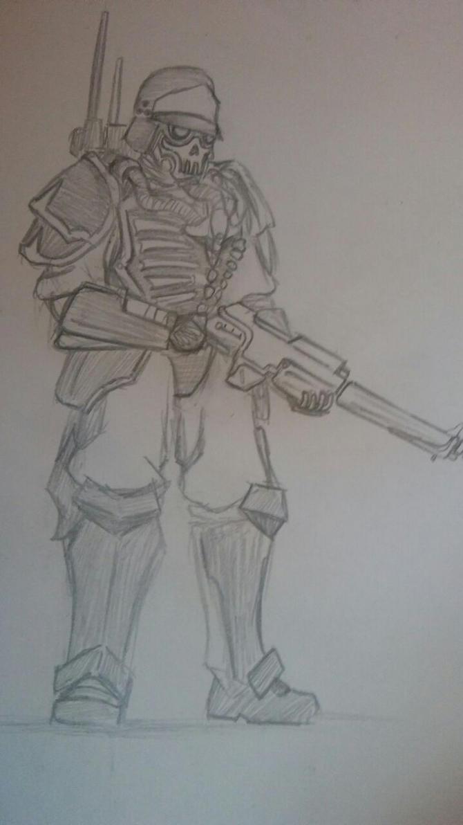 Rogue Trader Armsman by ArcanGuard