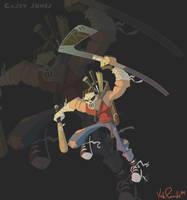 Casey Jones by KIRKparrish