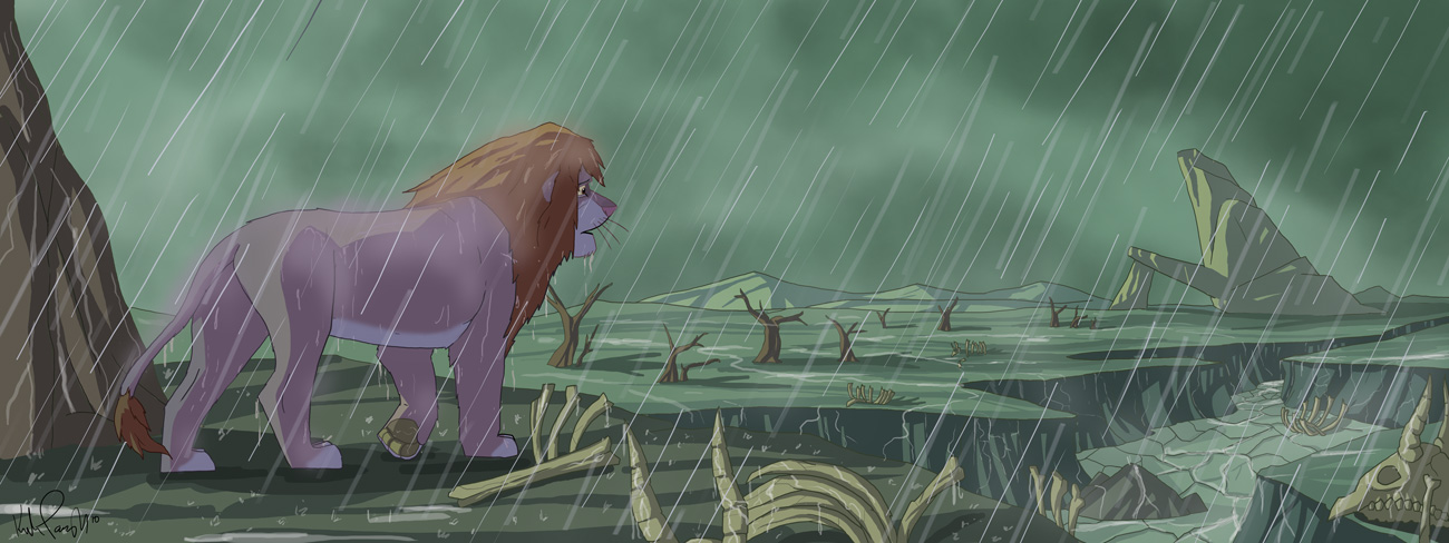 Simba's Return by KIRKparrish on DeviantArt