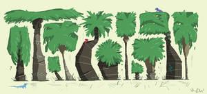 Palm Tree Design by KIRKparrish