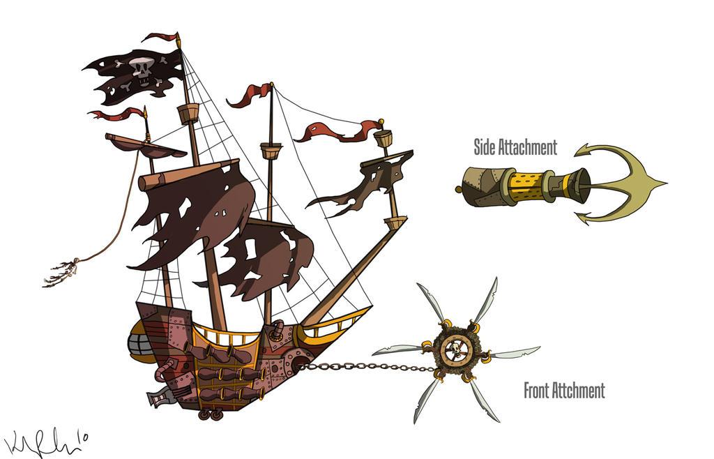 Pirate's cove Wacky_races_pirate_ship_by_kparrish33-d4sqbne