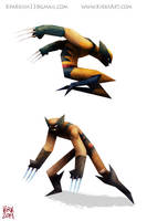 The Wolverine by KIRKparrish