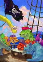 Dino Pirates by KIRKparrish