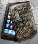 iPhone Case, Steampunk feel
