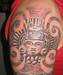 Incan Sun God