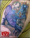 Batman fan tattoo