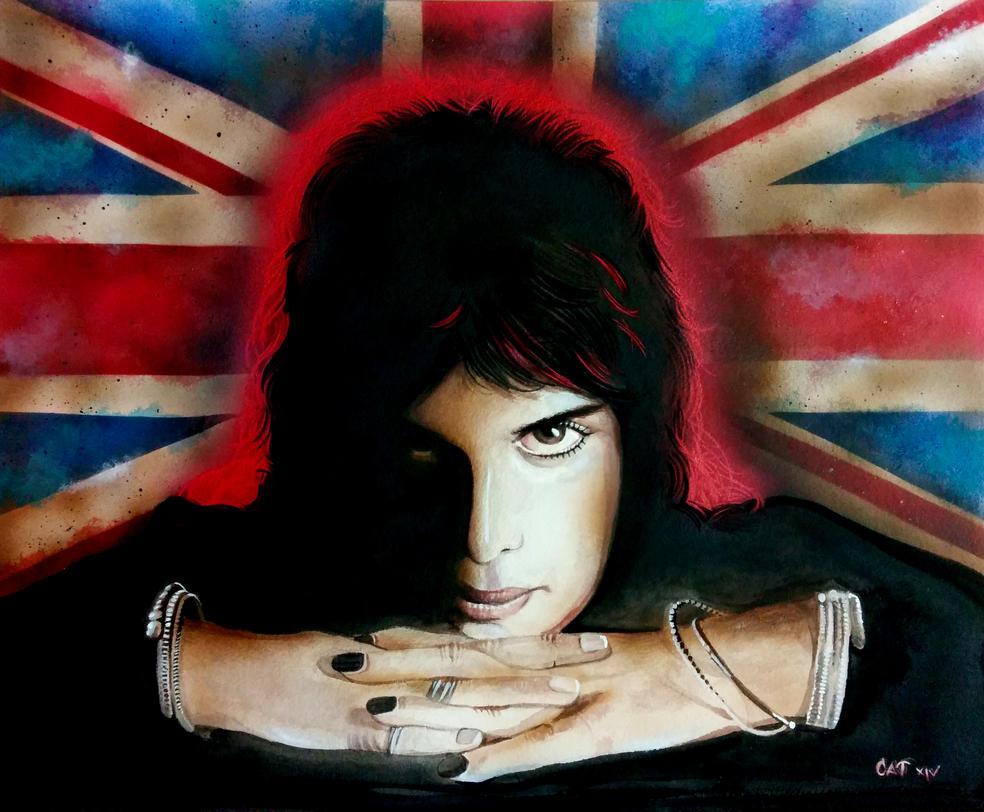 Freddie Mercury Tribute by catbones