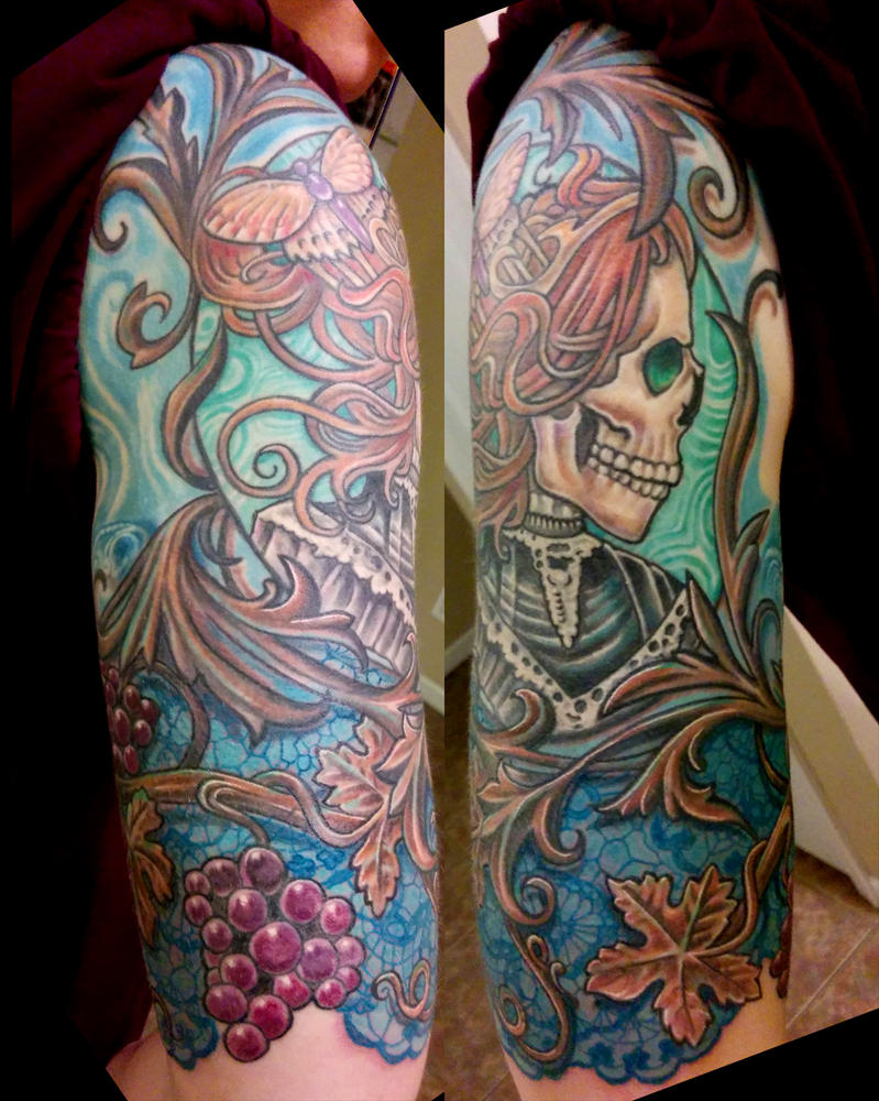 Shelley's arm by catbones