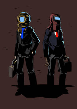 the diver and the welder