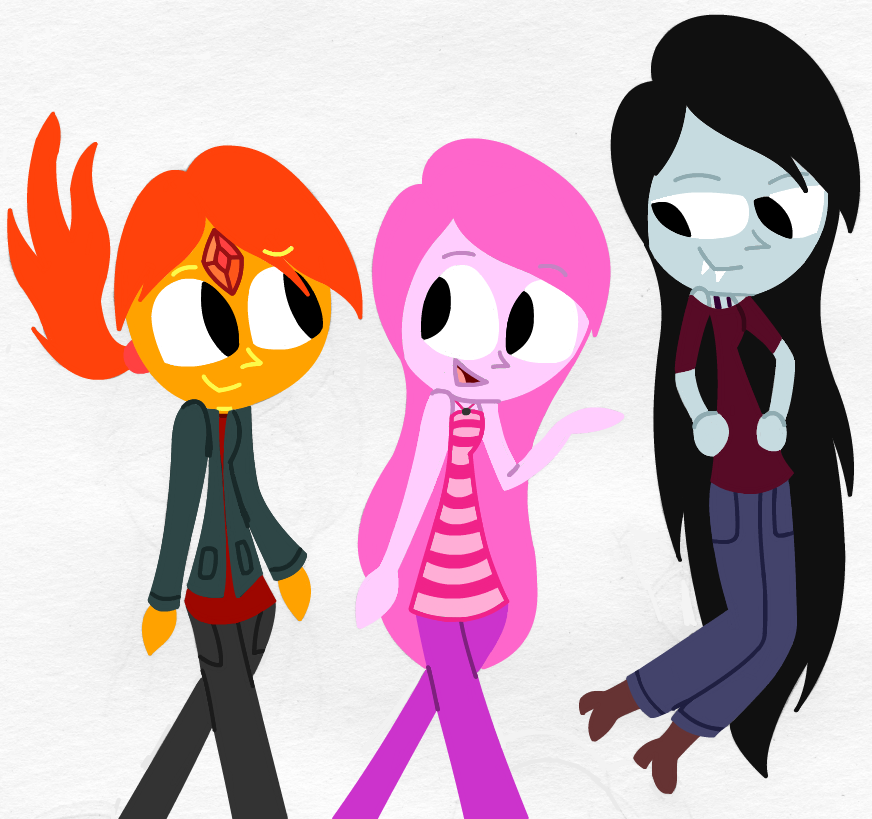 Adventure Time- Ladies' Night by LilyQueenOfPurple