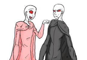 Voldermort and Voldemort by AlmightyTallestVoldy