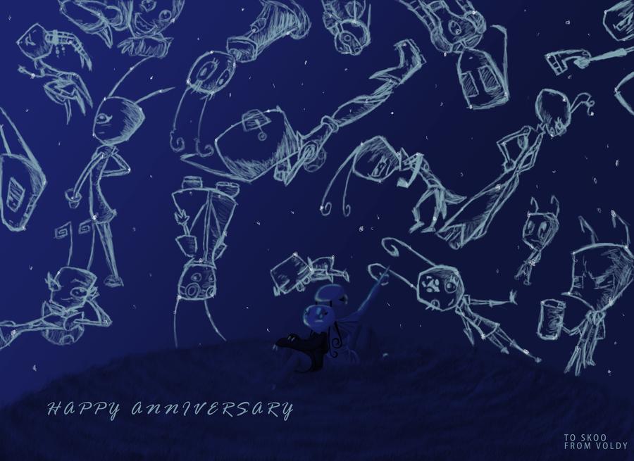 Happy Anniversary: Storytellin by AlmightyTallestVoldy