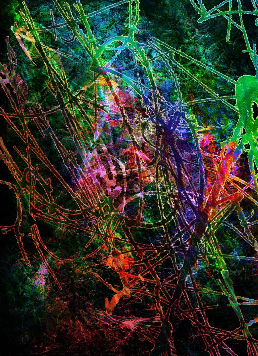 Neon Texture 02 by Tackon