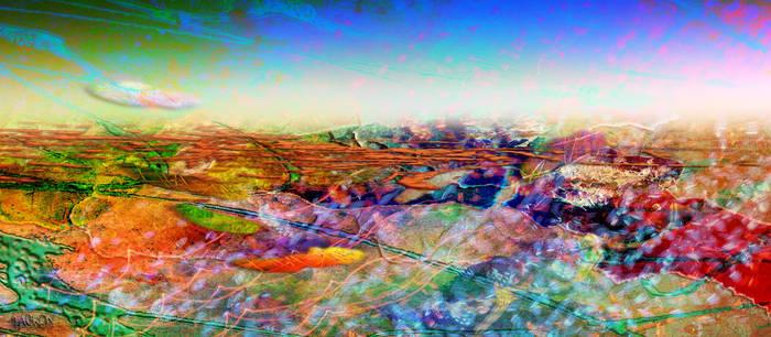Texture Landscape 12 by Tackon