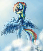 Rainbow Dash by 1Vladislav