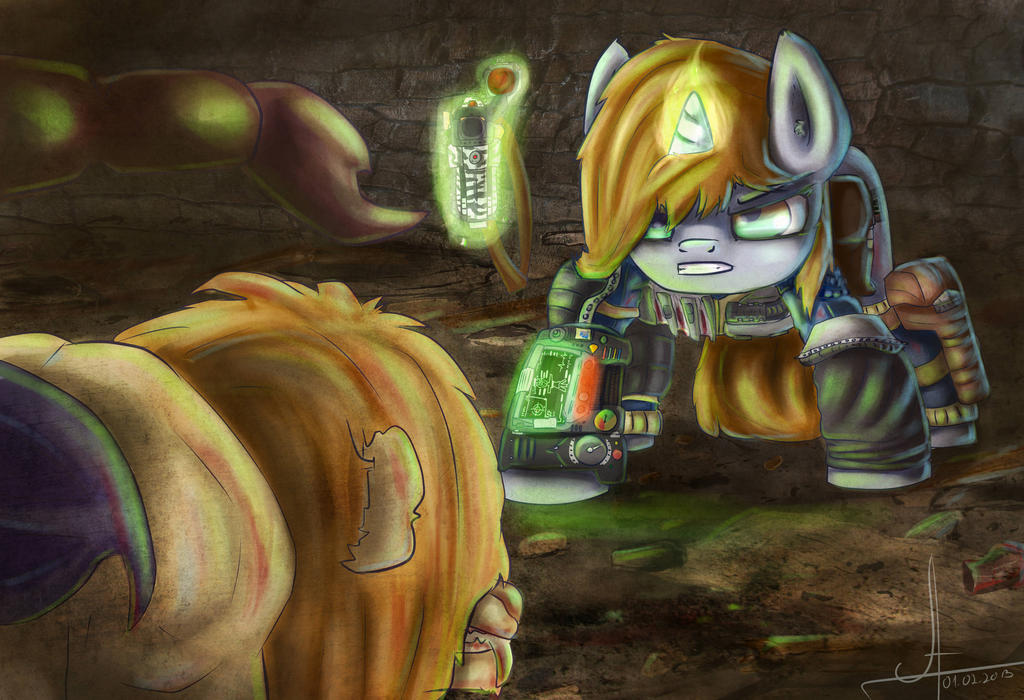Fallout:Equestria.Ch.17:The Villain of the Piece by 1Vladislav
