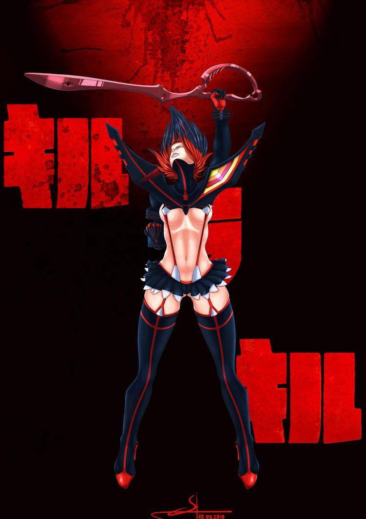 Kill La Kill: Ryuko Matoi by 1Vladislav