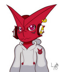 Deejay the Shoutmon (Digisona) by LostYandereShadow