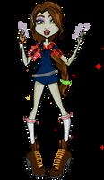 Monster High OC: Wendy Whitiko