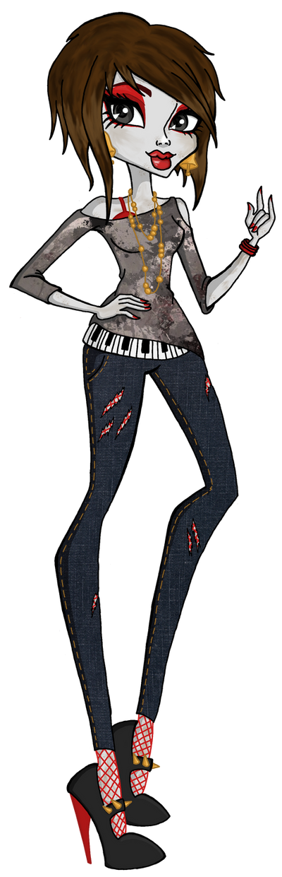 Monster High OC: Mariana Hemos by holhez21