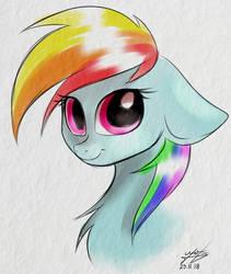 Rainbow Dash - 5min draw