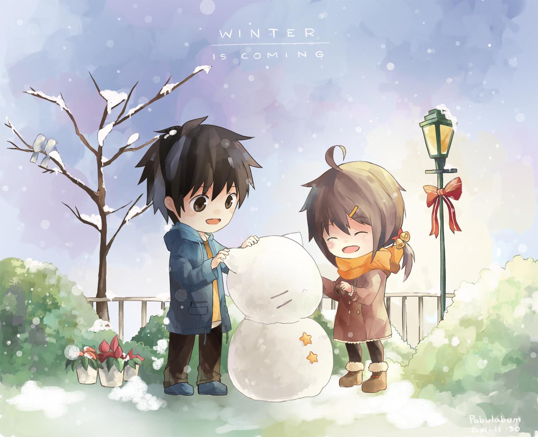 20141130 Snowman by Pabulabum