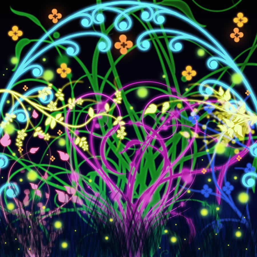 Floral Fantasy by Onizen