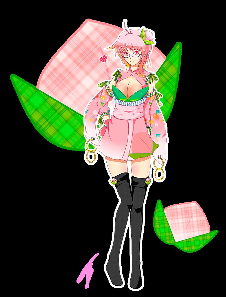 Peach Girl Momo Fashion Momo (Peach) by Onizen...