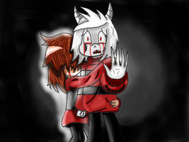 Underfell: I found people who care about me.... by Jolibe