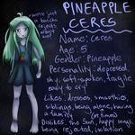 OC: Pineapple Ceres