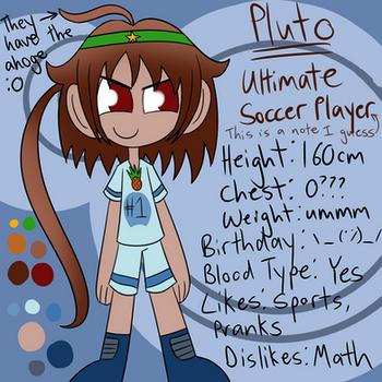 Danganronpa OC- Pluto