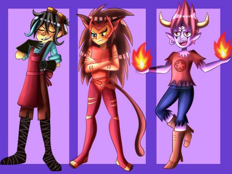 More of my Precious Cartoonz children (part 2)