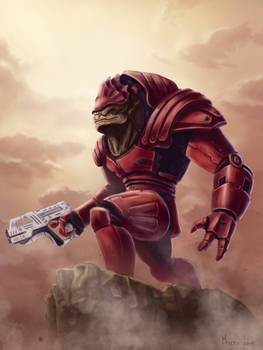 Urdnot Wrex - Mass Effect