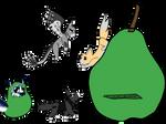 Its a bigger pear pt1