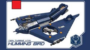 Twin Turbine VTOL: Hummingbird by theomegareaper101