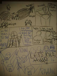 Hellsing Crossover Sketch Page Two by theomegareaper101