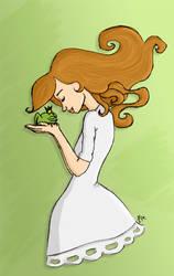 La princesse et la grenouille by rionma