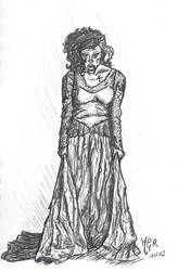 The bride zombie by rionma