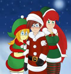 Happy Holidays from the MC crew! by Hollum-Dusk