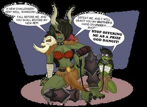 Warmallet: The Ogre Chief JJ!