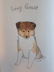 Doodle of Lucy Grace by Anni-Frid